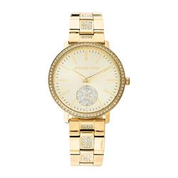 NEW MICHAEL KORS JARYB GOLD TONE WATCH MSRP $479