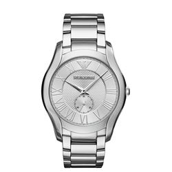 NEW EMPORIO ARMANI CHAMPAGNE DIAL CHRONO WATCH