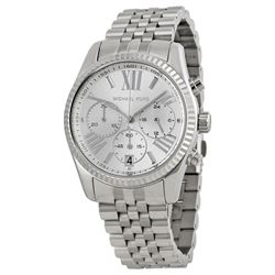 NEW MICHAEL KORS NEW LEXINGTON TRIPLE CHRONO WATCH