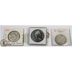 ASSORTED CANADIAN COLLECTORS COINS -