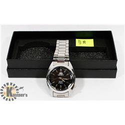 NEW MENS ORIENT WATCH STAINLESS STEEL BACK