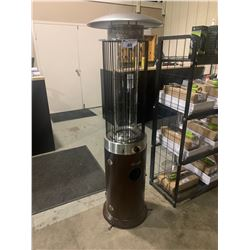PARAMOUNT PH-F-122 MOCHA PROPANE SPIRAL FLAME TUNNEL OUTDOOR PATIO HEATER