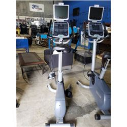PRECOR USA 842I STATIONARY BIKE WITH CARDIO THEATER