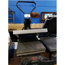 INSTA GRAPHIC SYSTEMS MODEL 138 MANUAL HEAT PRESS