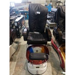 GULFSTREAM INC. AQUA SPA MODEL: G450-8  MASSAGE CHAIR AND JET WATER FOOT BATH