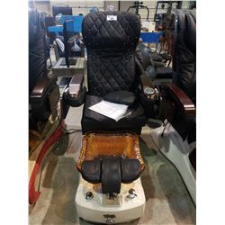 GULFSTREAM INC. AQUA SPA MODEL: AQUA TEN 9660 MASSAGE CHAIR AND JET WATER FOOT BATH