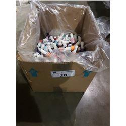 BOX OF ASSORTED NAIL POLISH