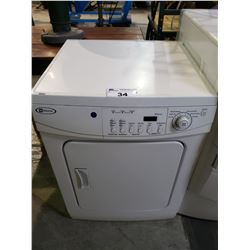 MAYTAG DRYER MODEL MDE2400AZW