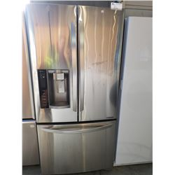 LG STAINLESS STEEL INVERTER LINEAR FRENCH DOOR FRIDGE WITH ROLL OUT FREEZER, WATER AND ICE