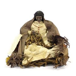 Vintage Native American Cherokee Doll