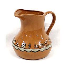 Native American Pamunkey Ceramic Pottery Pitcher