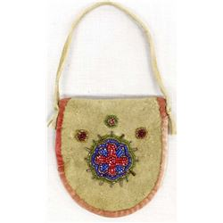 Vintage Native American Iroquois Beaded Purse