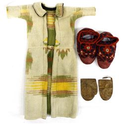 Antique Native American Children's Clothing