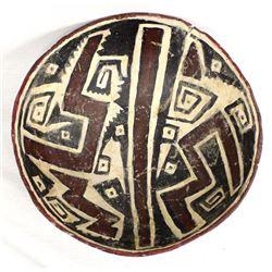 Hand Formed Ceremonial Polychrome Bowl