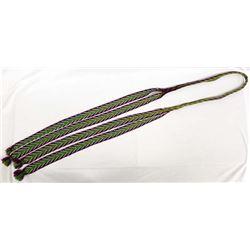 Beautiful Native American Beaded Wool Belt