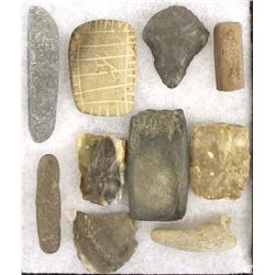 Prehistoric Native American Stone Artifacts