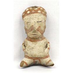 Rare Pre Columbian Chinesco Pottery Figure