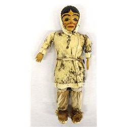 Antique Coastal Salish Doll
