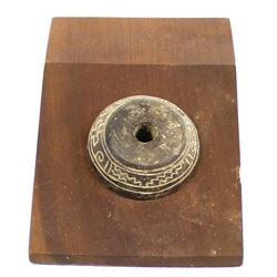 Prehistoric Toltec Pottery Spindle Whorl