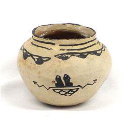 Historic Native American Cochiti Pottery Bowl