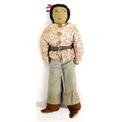 Vintage Native American Navajo Cloth Doll