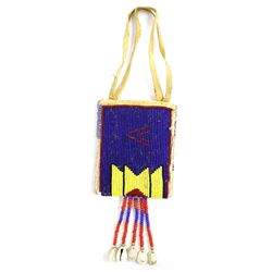 Vintage Plains Indian Beaded Pouch