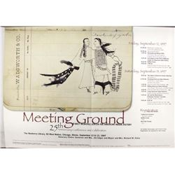 Meeting Ground Conference Poster-25th Anniversary