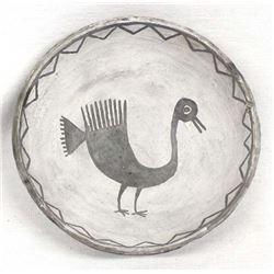 Prehistoric Mimbres Pottery Bowl Replica