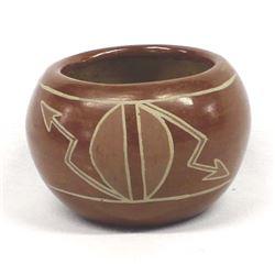 Historic Native American San Juan Pottery Bowl