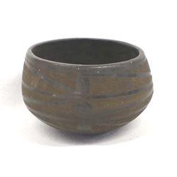 Historic Casas Grandes Wind Pattern Pottery Bowl