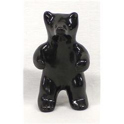 Santa Clara Pottery Bear, Jane Baca, Starr Tafoya