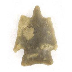 Rare Prehistoric Native American Stone Arrowhead