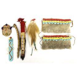 6 Vintage Native American Collectibles