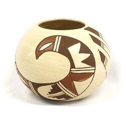 Hopi Pottery Bowl by K. Collateta