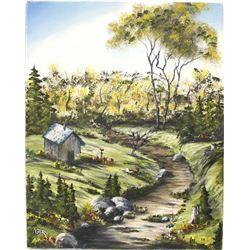 Original Oil Painting by Colorado Artist Ned Bam