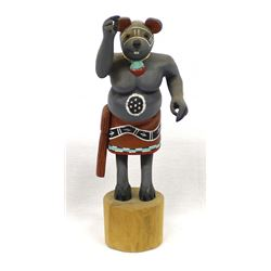 Hopi Mouse Warrior Kachina by Finkle Sahmie