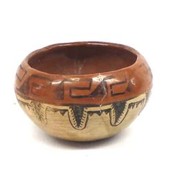 Historic Native American Maricopa Bowl
