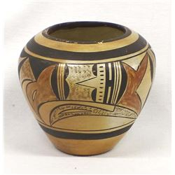 Historic Hopi Pottery Bowl by Cora P. Andrew