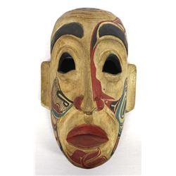 Vintage Northwest Coast Carved Wood Mask