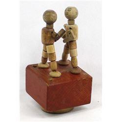 Vintage Kohner Boxers Push Puppet