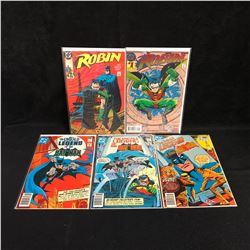 DC COMICS BOOK LOT (ROBIN/ THE UNTOLD LEGEND OF THE BATMAN)