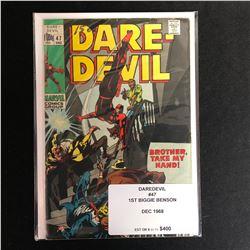 DAREDEVIL #47 (MARVEL COMICS) 1968
