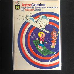 """ASTRO COMICS """"YOUR FAVORITE COMIC BOOK CHARACTERS ON AMERICAN AIRLINES"""" (HARVEY COMICS)"""