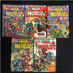 WAR OF THE WORLDS COMIC BOOK LOT (MARVEL COMICS)