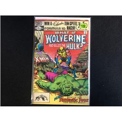 What If? # 31 - Wolverine Had Killed The Hulk (Marvel Comics)