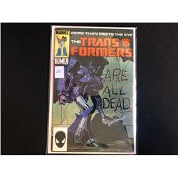 THE TRANSFORMERS #5 (MARVEL COMICS)