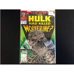 What If? # 50 - Wolverine Had Killed Wolverine (Marvel Comics)