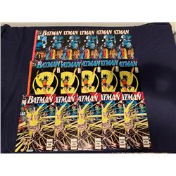 BATMAN COMIC BOOK LOT (DC COMICS) 441, 442, 443 (5 OF EACH BOOK)