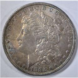 1882-O MORGAN DOLLAR CH BU COLOR