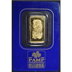 PAMP SUISSE 2.5 gram 999.9 GOLD BAR IN ASSAY
